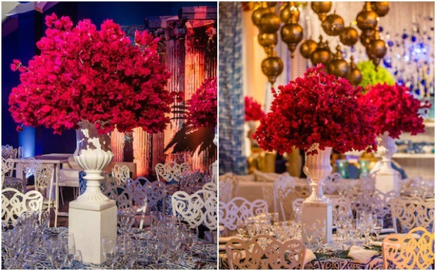 decoracao festa grega:Festa de 15 anos: Grécia inspira decoração mediterrânea e
