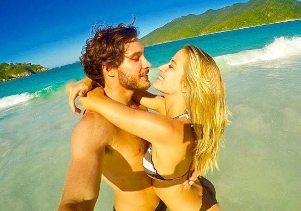 Barbara França e Maurício Pitanga (Foto: Reprodução/Instagram)