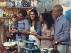 Fernanda Machado faz festa para comemorar 1 ano do filho, Lucca
