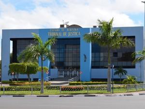 Sede do Tribunal de Justiça de Roraima (Foto: Rodrigo Menaros / G1 RR)
