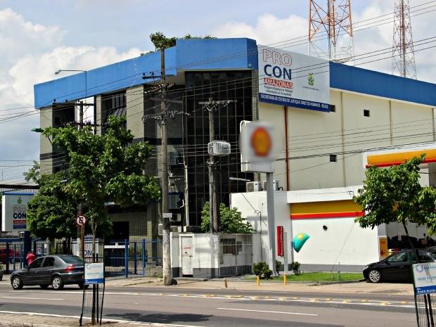 Procon-AM está situado na Avenida André Araújo, após o Complexo Gilberto Mestrinho (Foto: Suelen Gonçalves/G1 AM)