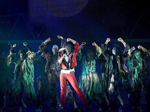 Imagem do espetáculo 'Thriller Live Brasil Tour' (Foto: Divulgação)