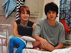 Giovana e Vitor se amarram na ideia (Foto: Malhação / TV Globo)