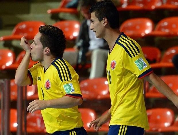 Colômbia Camilo Angellot futsal (Foto: Getty Images/Fifa)