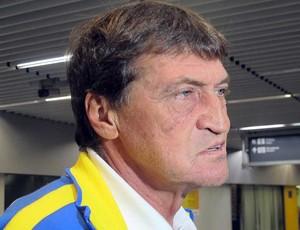 Julio Cesar Falcioni, técnico do Boca Juniors (Foto: Rafael Cavalieri / Globoesporte.com)