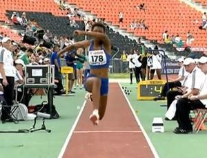 Atleta Núbia Soares de Lagoa da Prata (Foto: Arquivo Pessoal / Núbia Soares)