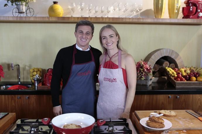 Luciano Huck e Angélica cozinham juntos (Foto: Fábio Rocha/Gshow)