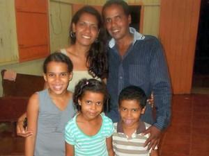 Família foi morta durante acidente na rodovia BR-364 em Rio Branco  (Foto: Arquivo da família)