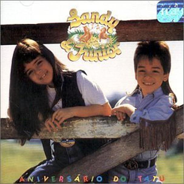 Primeiro álbum da dupla Sandy & Junior, lançado em 1991 (Foto: Reprodução)