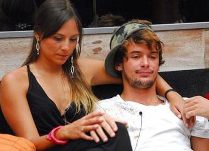 Analy e Alan Pierre tiveram até um filho (Foto: TV Globo)