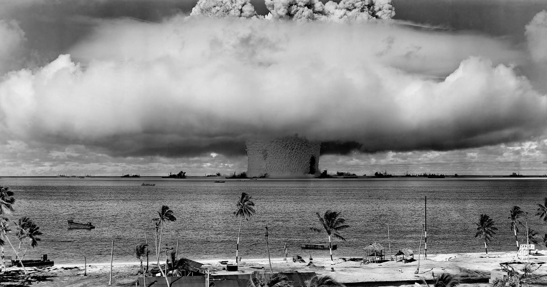 Teste nuclear (Foto: Wikimedia Commons)