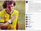 Regina Célia, mãe de David Luiz, na web: 'Você é um vitorioso sem taça'