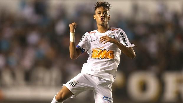 Neymar, Santos (Foto: Alex Silva / Agência Estado)