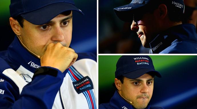 Felipe Massa durante a coletiva de imprensa da F-1 nesta quinta-feira, em Sochi (Foto: Getty Images)