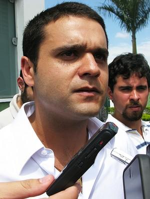 Investidor para contratação de Wesley pelo Palmeiras (Foto: Daniel Romeu/Globoesporte.com)