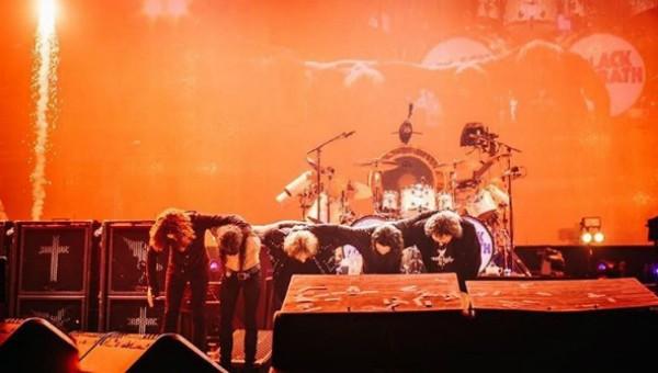 Black Sabbath em Birmingham (Foto: Reprodução Instagram)