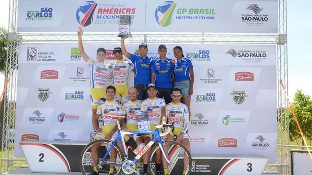 Equipe de ciclismo de São José dos Campos (Foto: Luis Claudio Antunes/PortalR3)
