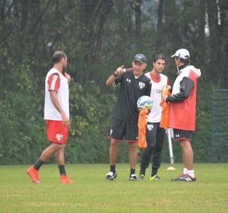 Juan Carlos Osorio orienta treino do São Paulo (Foto: Renata Lufti / saopaulofc.net)