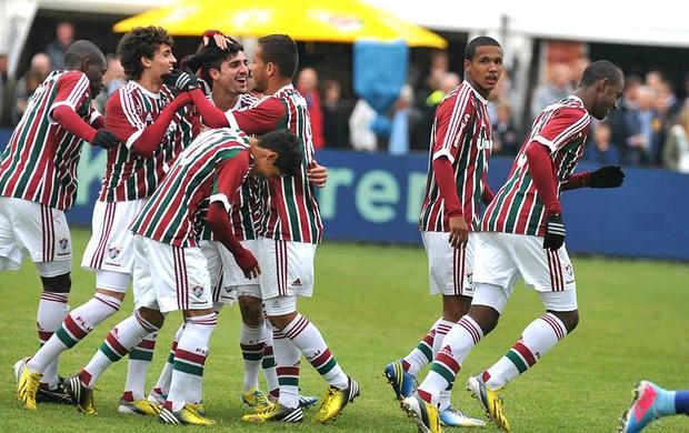 Fluminense sub-20 comemoração (Foto: Divulgação)