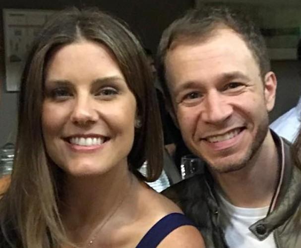 Tiago Leifert e Daiana Garbin (Foto: Instagram/Reprodução)