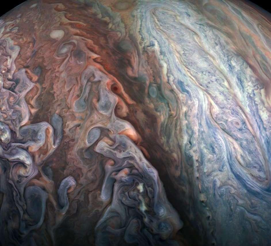 Júpiter (Foto: NASA/SWRI/MSSS/Gerald Eichstadt/Gabriel Fiset)