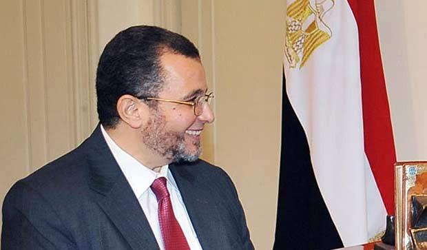 O premiê do Egito, Hisham Qandil, em 25 de julho no palácio presidencial, no Cairo  (Foto: AFP)