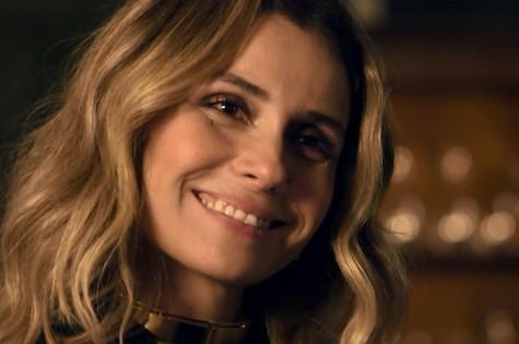 Giovanna Antonelli em cena como Atena (Foto: Reprodução/ TV Globo)