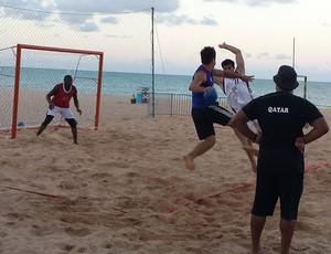 Qatar, handebol de areia (Foto: Divulgação)