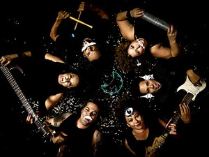 Integrantes do grupo Tumba La Catumba, que se apresenta de graça no Sesc de Ceilândia, no DF (Foto: Milena Vasconcelos/Divulgação)