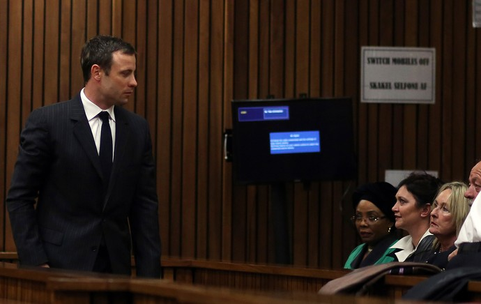 Oscar Pistorius Julgamento (Foto: Agência Reuters)