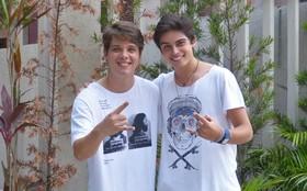 Mistura boa! Lucca Diniz e Daniel Marques falam de parceria fora da telinha
