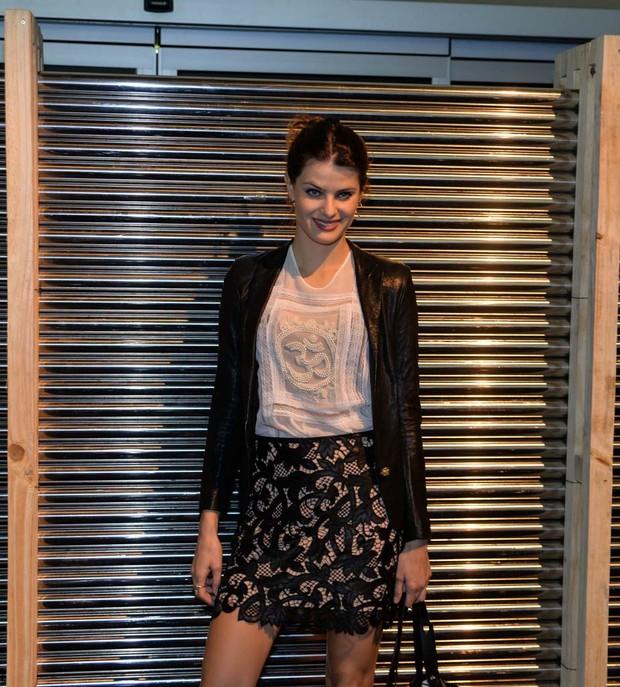 Isabelli Fontana no Minas Trend (Foto: Joshua Bryan/Agnews)