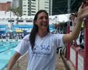 Fabíola Molina agradece carinho dos fãs de natação após evento social