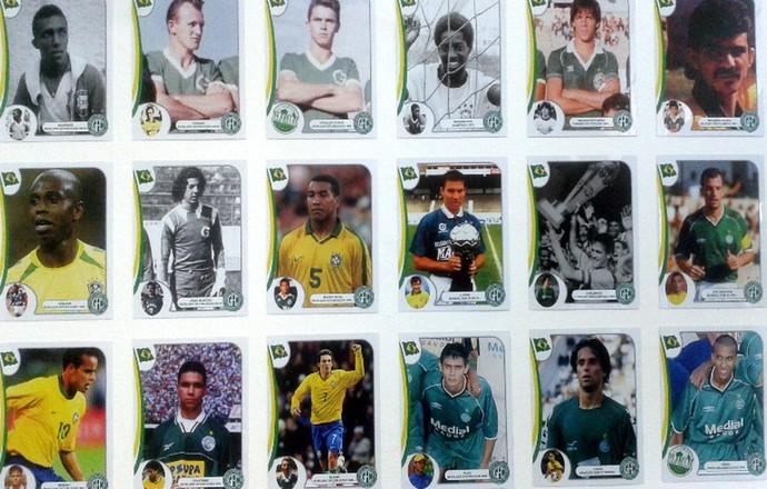 Guarani mural jogadores convocados para a seleção brasileira (Foto: Marcos Araújo / Agência Guarani)