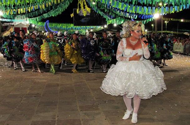 Luar do São João emocionou plateia do Portal do Forró, em Piripiri (Foto: Katylenin França/TV Clube)
