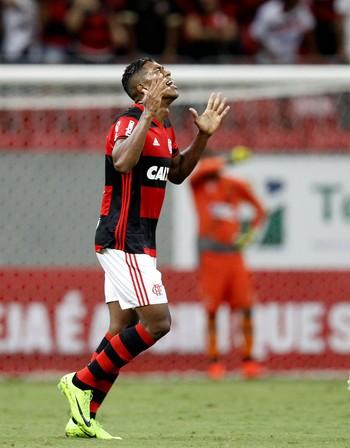 Berrio Flamengo x Vasco (Foto: Agência Estado)