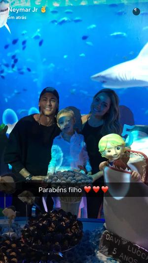 Neymar Snapchat 22/08 (Foto: Reprodução/ Snapchat)