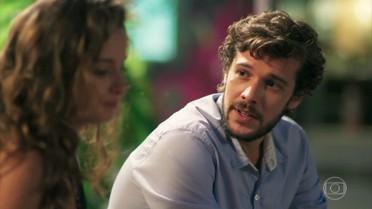 Renato promete esclarecer as dúvidas de Nanda