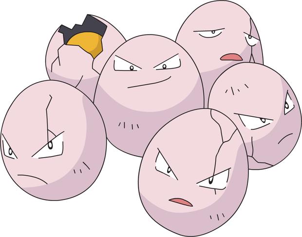 Pokémon Exeggcute (Foto: Nintendo)