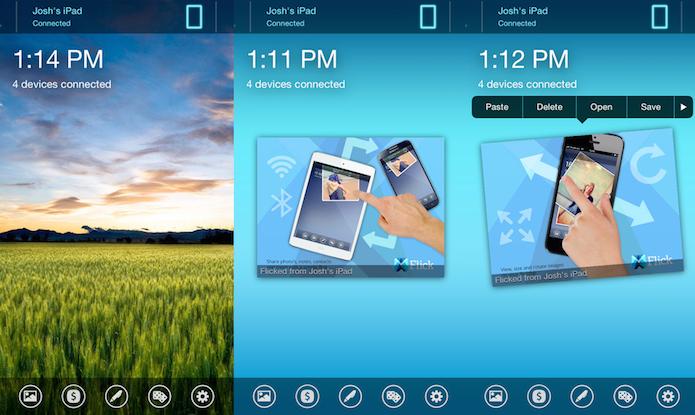 Transfira arquivos entre diferentes dispositivos com o Flick (Foto: Divulgação/AppStore)