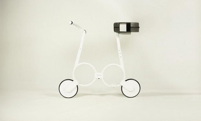 Impossible, bicicleta elétrica dobrável (Foto: Divulgação/Impossible Technology)