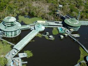 Ariaú Amazon Towers está com maioria das acomodações reservadas (Foto: Divulgação/Ariaú Amazon Towers)