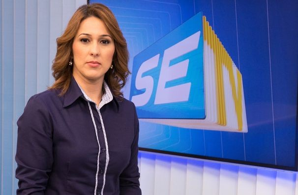 Susane Vidal, apresentadora do SETV 2ª Edição (Foto: Divulgação / TV Sergipe)