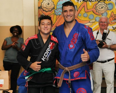 Thiago Tavares Jiu-Jitsu Piracicaba (Foto: Arquivo Pessoal / Thiago Tavares)