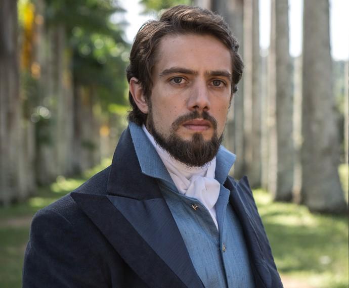 Rafael Cardoso será o Conde Felipe (Foto: Fábio Rocha/Gshow)