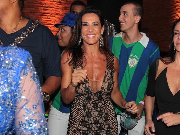 Scheila Carvalho em festa em São Paulo (Foto: Celso Tavares/ EGO)