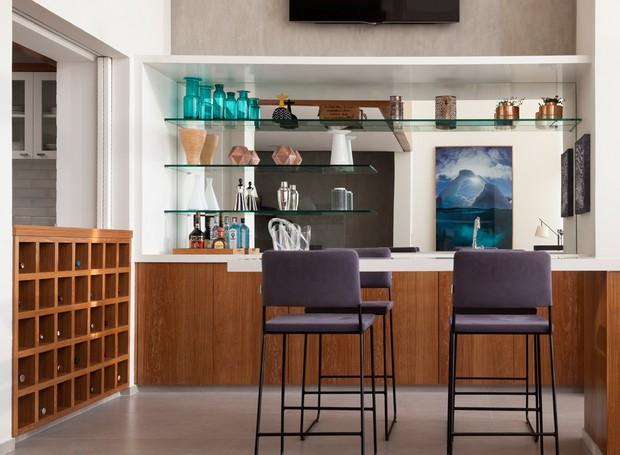 adega-cozinha-colorida-ceravolo (Foto: Divulgação)