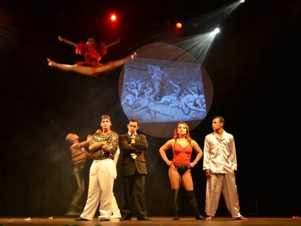 """Espetáculo """"Os Sete Pecados Capitais"""" (Foto: Divulgação / Up Leon)"""