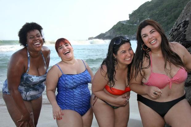 Cacau Protásio, Simone Gutierrez, Mariana Xavier e Fabiana Karla (Foto: Janderson Pires / Divulgação)