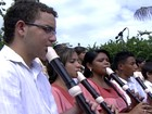 Natal de crianças cantoras e flautistas de Cuiabá traz de Ary Barroso a Bach